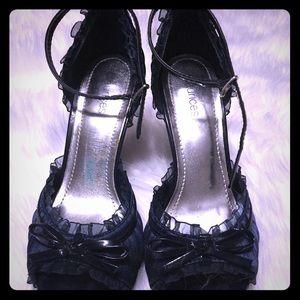 Dressy strappy heels